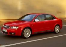 Тех. характеристики Audi S4 2003 - 2004