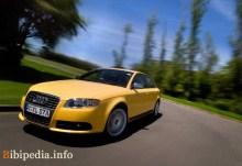 Тех. характеристики Audi S4 2005 - 2007