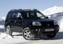 Тех. характеристики Nissan X-trail 2003 - 2007