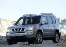 Тех. характеристики Nissan X-trail с 2007 года